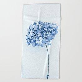 Hydrangea Blue 2 Beach Towel