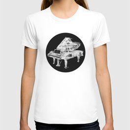 Black Piano T-shirt