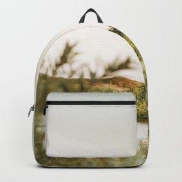 Moonlight in the dunes | Calm natural fine art print | Netherlands Backpack