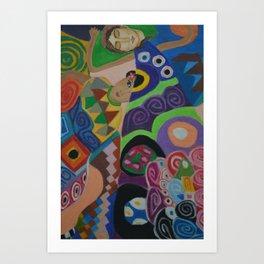 Inspired by Klimt Art Print