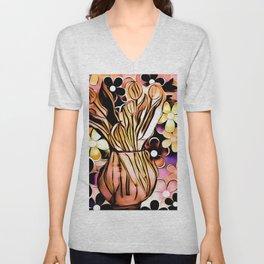 Flower Daze Unisex V-Neck