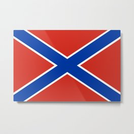 Novorossiya historical  region flag novorussia or new russia Metal Print