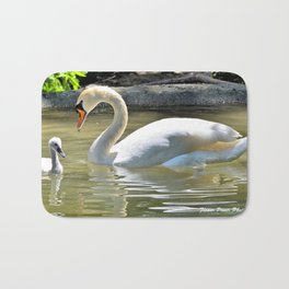Swan and Cygnet Bath Mat