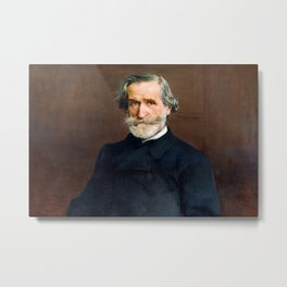 Giuseppe Verdi (1813 – 1901) by Giovanni Boldini (1842 - 1931) Metal Print