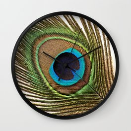 Peacock_20171201_by_JAMFoto Wall Clock