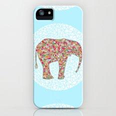Elephant Circle #2 Slim Case iPhone (5, 5s)