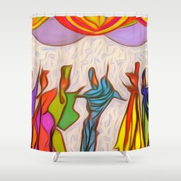 Party-Party! Shower Curtain