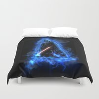 vader Duvet Covers featuring Vader by Robin Curtiss