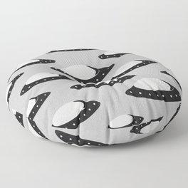 UFOs Incoming Floor Pillow