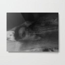 Sleeping couple Metal Print