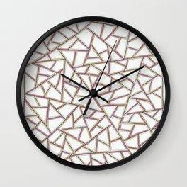 Gridlock One Wall Clock