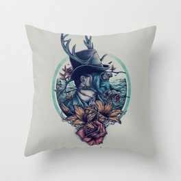 The Other Face Throw Pillow
