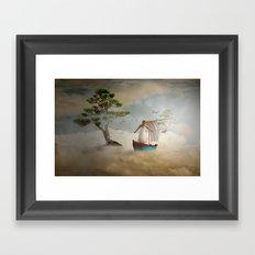 Dreaming high Framed Art Print