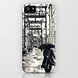 Pig Alley Lawrence iPhone Case