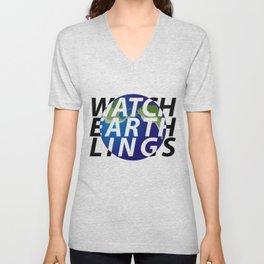 watch earthlings Unisex V-Neck