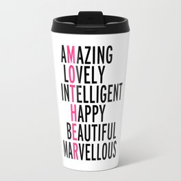 Mother Quote Travel Mug
