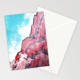 The Misty Mountains Stationery Cards