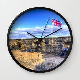 Edinburgh Castle Wall Clock