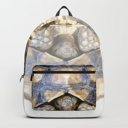 Sulcata Tortoise with Reflection Backpack