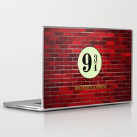 hogwarts Laptop & iPad Skins featuring Hogwarts Express by kattie flynn