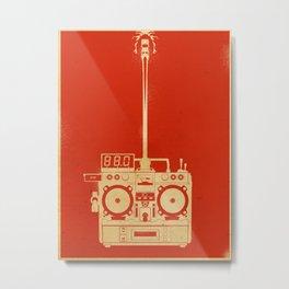 88mph Metal Print