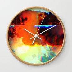 23-03-44 (Cloud Glitch) Wall Clock