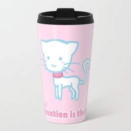 Taxation Is Theft Kitty Travel Mug