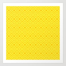 #neonyellow , #neon , #yellow , #lemon Art Print