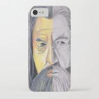 gandalf iPhone & iPod Cases featuring Gandalf   by RidnelSilva