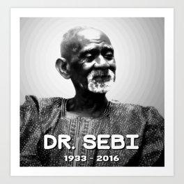 Dr. Sebi Art Print