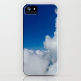 Flying in the Clouds iPhone Case