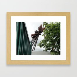 The Last of the B of the Bang Framed Art Print