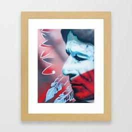 Indigenous Heart Framed Art Print