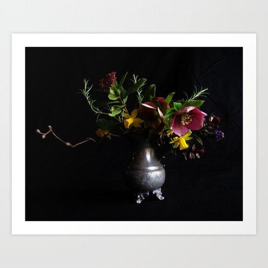 Dark Still Life Art Print