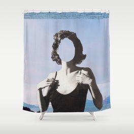 Six Feet Under Shower Curtain
