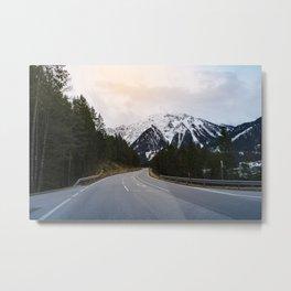 Austrian Road Metal Print