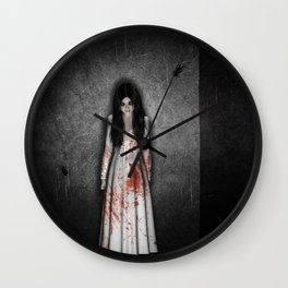 The dark cellar Wall Clock