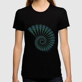 Spiral Tribal Turtle Shell T-shirt