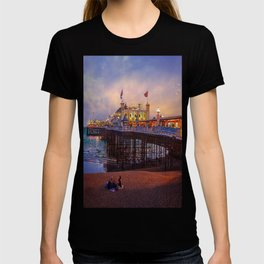 Brighton Pier Twilight T-shirt