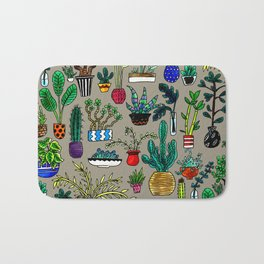 I Want All the Plants Bath Mat