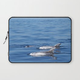 Beautiful risso´s dolphins in Tenerife Laptop Sleeve