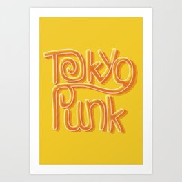 Tokyo Punk Art Print