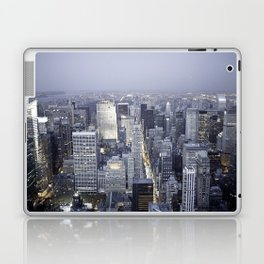 NYC from Empire State Building Laptop & iPad Skin