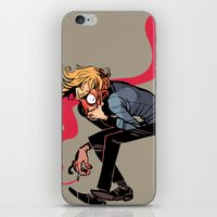musa iPhone & iPod Skins featuring you wish you felt better by musa