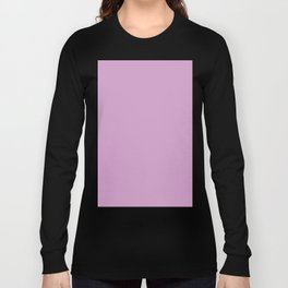 orchid color coordinate solid Long Sleeve T-shirt