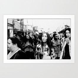Foire du Trône, Paris 2014 Art Print