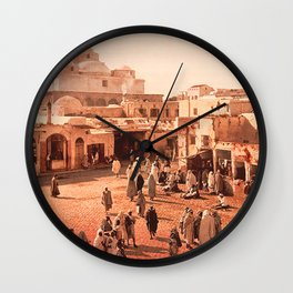 Vintage Babylon photograph Wall Clock