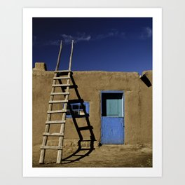 Old New Mexico Art Print