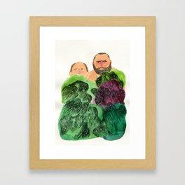 Shy Guys Framed Art Print