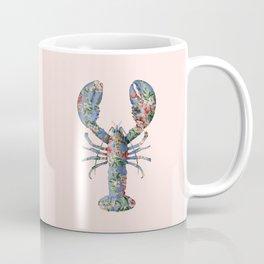 FLORAL LOBSTER Coffee Mug